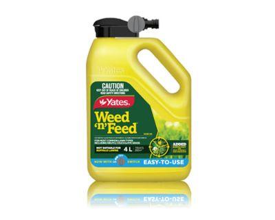 Lawn Grass Weed Control And Fertiliser Liquid Yates
